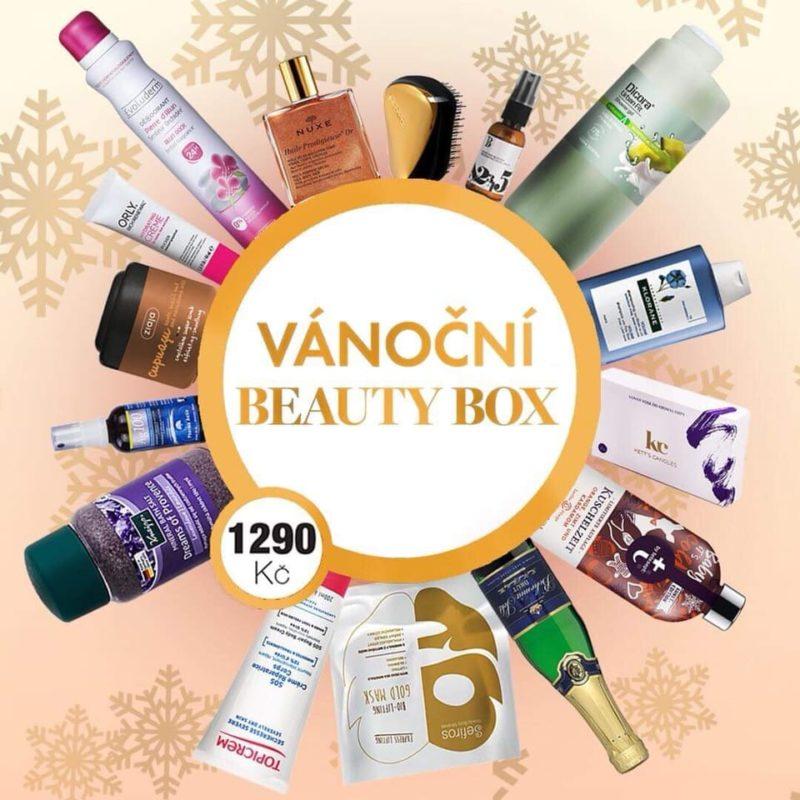 beauty box vánoce inzerce